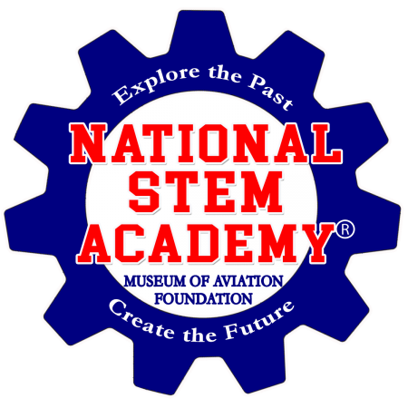 national stem academy logo, education donations, star partners