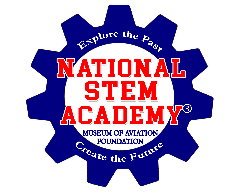 national stem academy logo, education donations, star partners