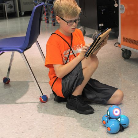STEM summer camps, robotics