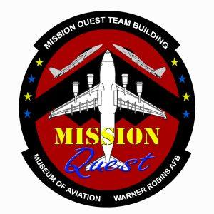 aviation, mission quest logo