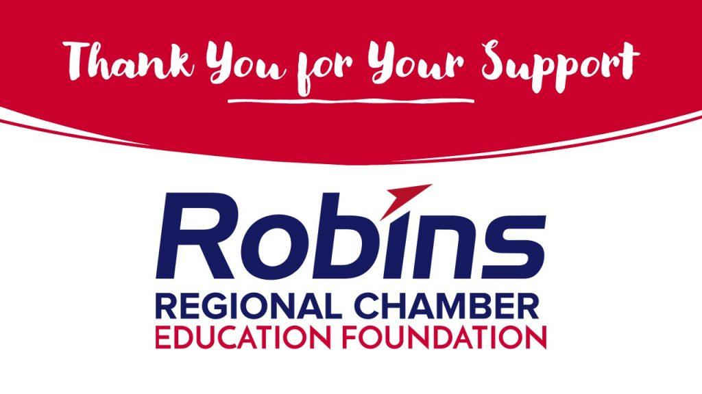 thank you robins regional chamber